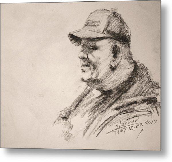 Sketch Man 15 Metal Print