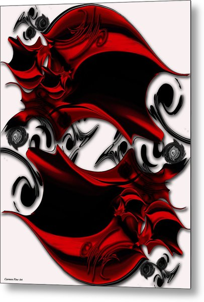 Sketch Of Aesthetic Dimensionality Metal Print