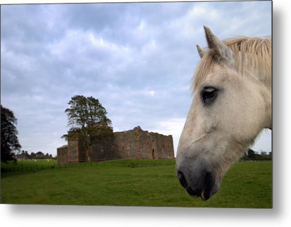 Skipness Castle Metal Print