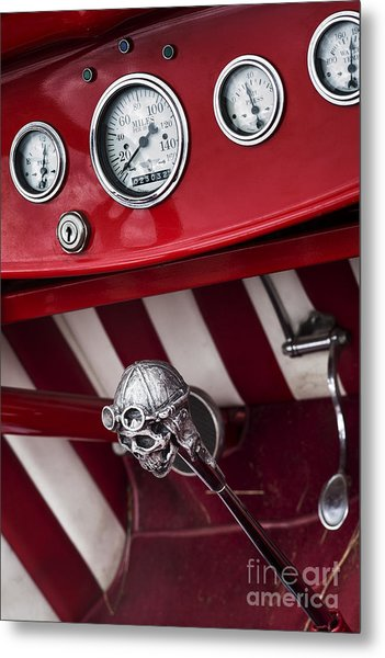 Skull Shifter Metal Print by Tim Gainey