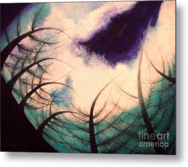 Sky And Land Symphony Metal Print