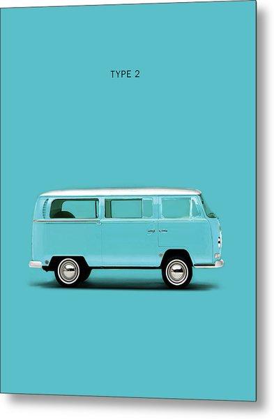 Sky Blue Type 2 Metal Print