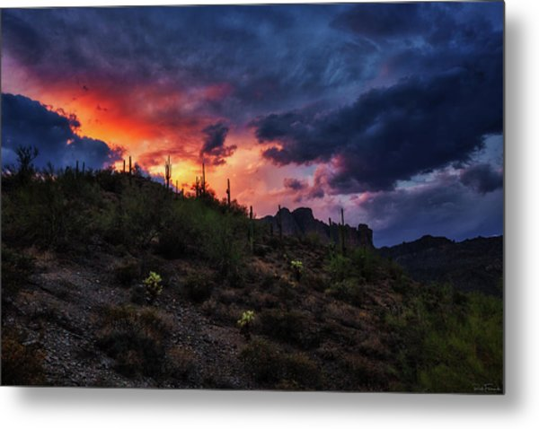 Metal Print featuring the photograph Sky Candy by Rick Furmanek