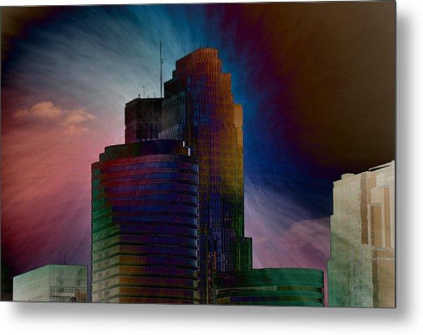 Sky Disruptors Metal Print by John Ricker