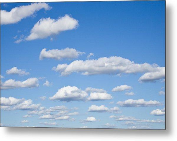 Sky Of Clouds Metal Print