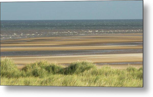 Sky, Sea, Sand, Sod... Metal Print