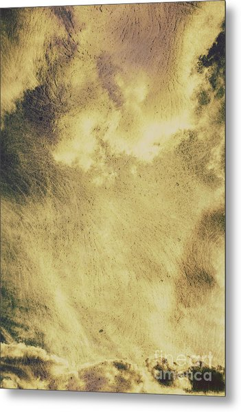 Sky Texture Background Metal Print