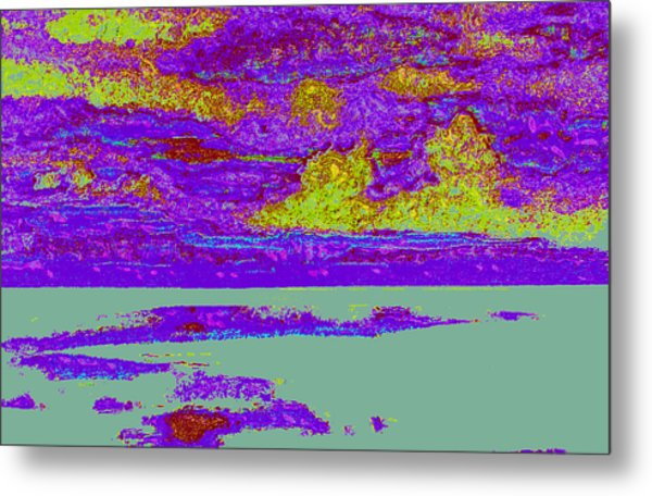 Sky Water D4 Metal Print by Modified Image
