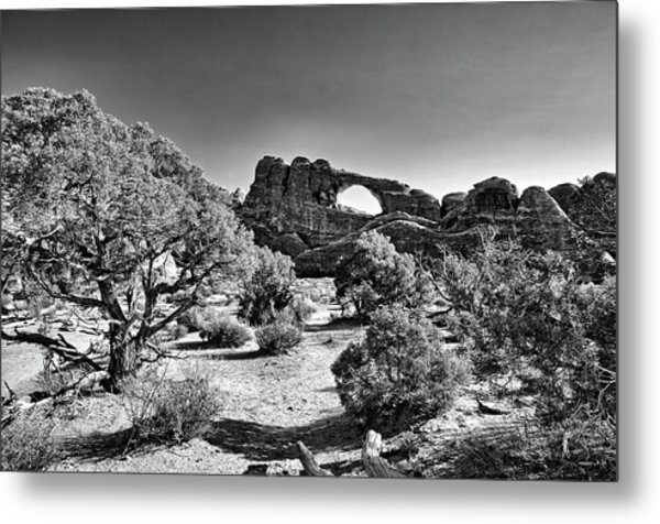 Skyline Arch In Arches National Park Metal Print