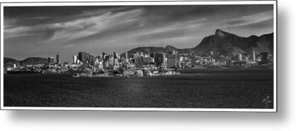 Skyline-centro-rio De Janeiro-brasil Metal Print