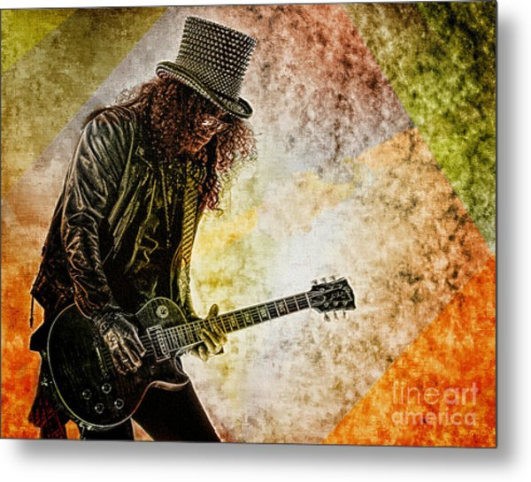 Slash - Guitarist Metal Print