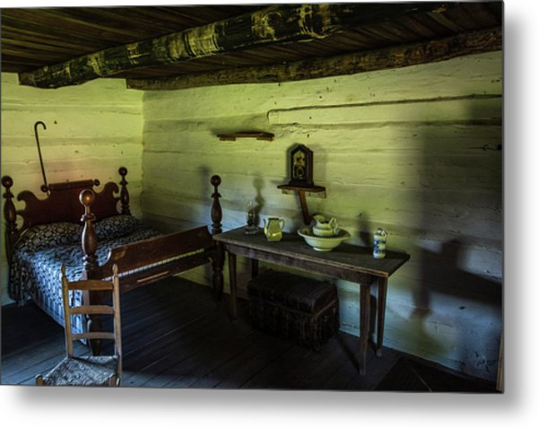 Metal Print featuring the photograph Slave Quarters - The Hermitage by James L Bartlett