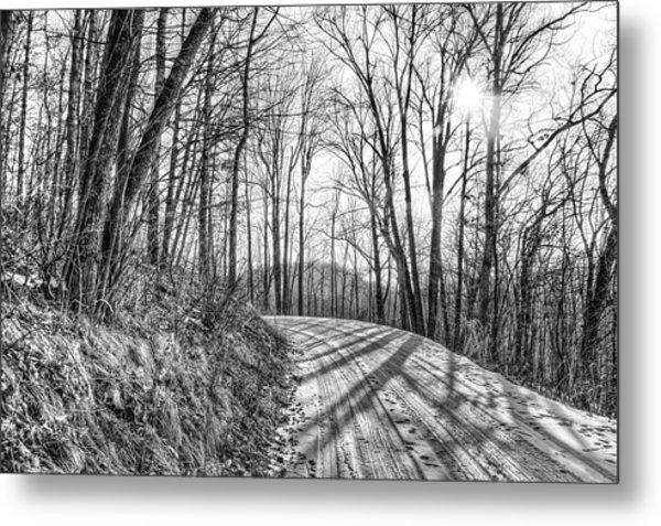 Sleep Hallow Road Metal Print