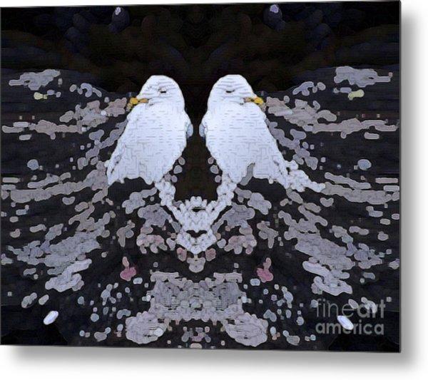 Sleeping Gull Metal Print by Patrick Guidato