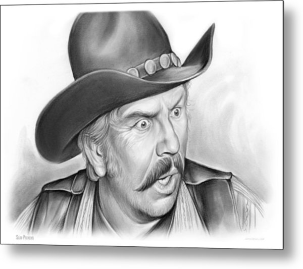 Slim Pickens Metal Print