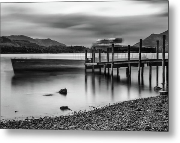 Slipping The Jetty Metal Print