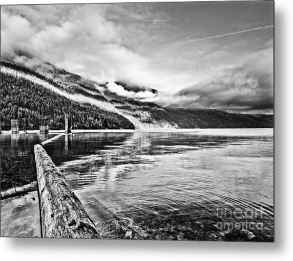 Slocan Lake Bc Metal Print by Emilio Lovisa