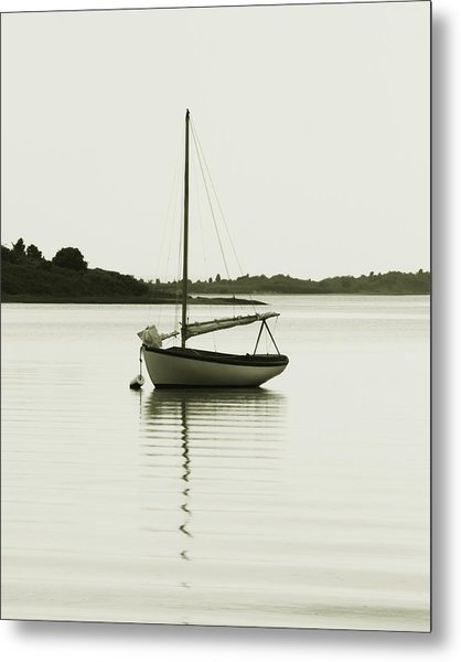 Sloop At Rest  Metal Print