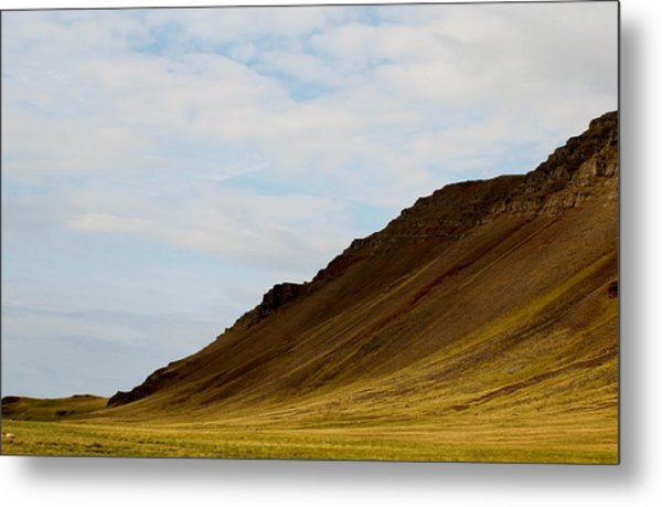 Slope Metal Print