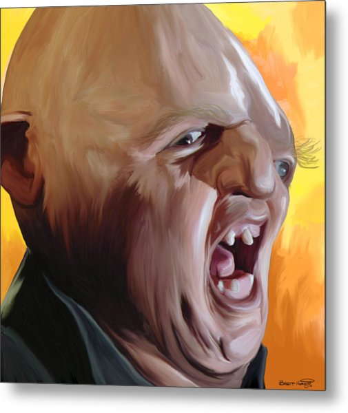 Sloth From Goonies Metal Print