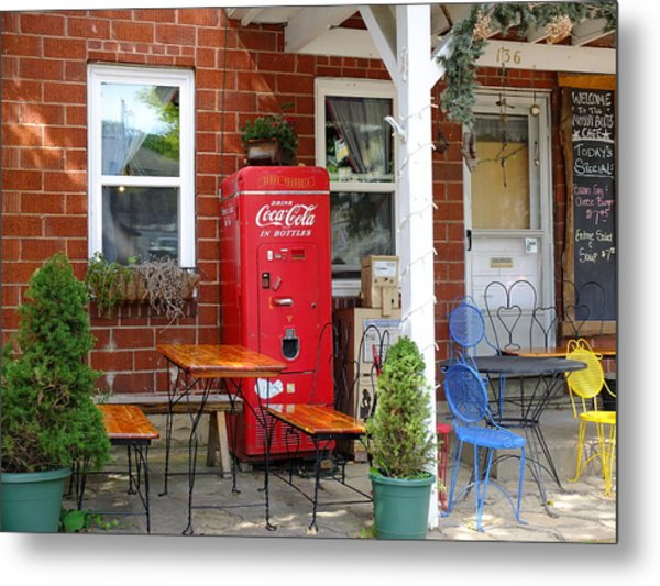 Slow Day In Nashville Indiana Metal Print