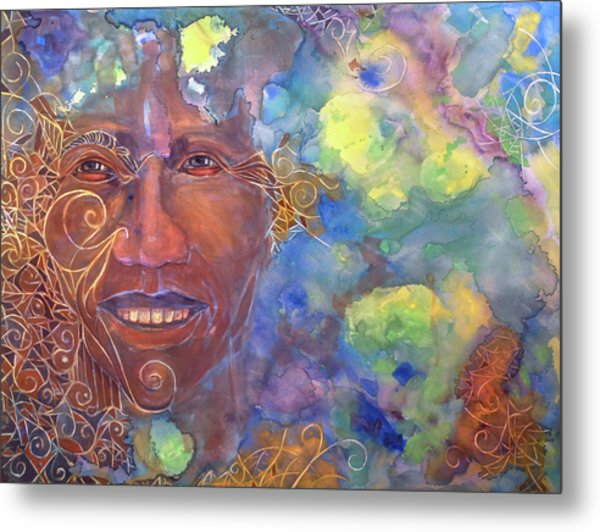 Smiling Muse No. 1 Metal Print