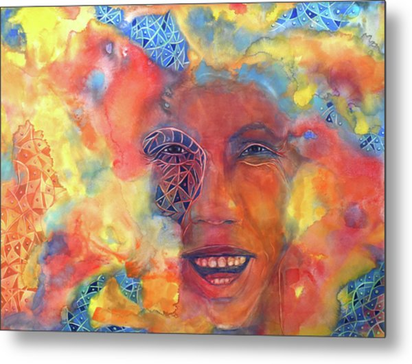 Smiling Muse No. 2 Metal Print