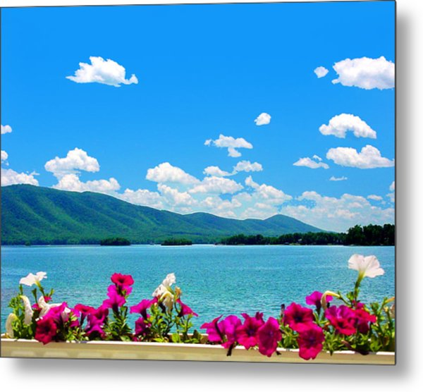 Smith Mountain Lake Grand View Metal Print