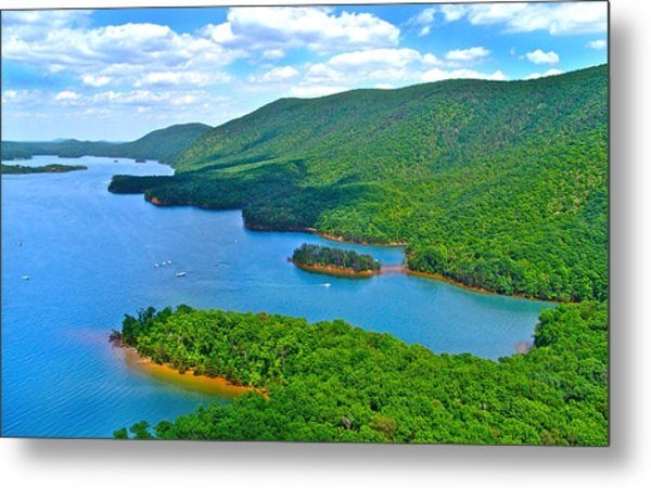 Smith Mountain Lake Poker Run Metal Print
