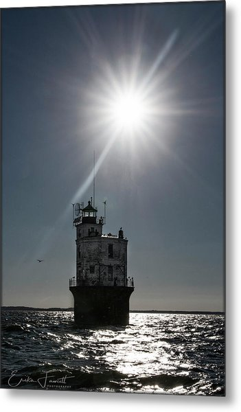 Smith Point Lighthouse Metal Print