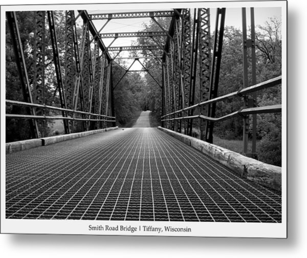 Smith Road Bridge  Metal Print