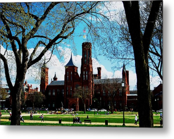 Smithsonian In The Spring Metal Print
