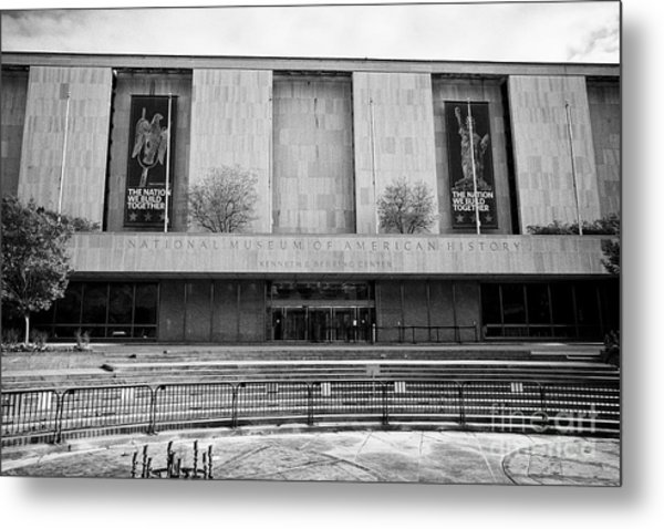 smithsonian national museum of american history kenneth behring center Washington DC USA Metal Print