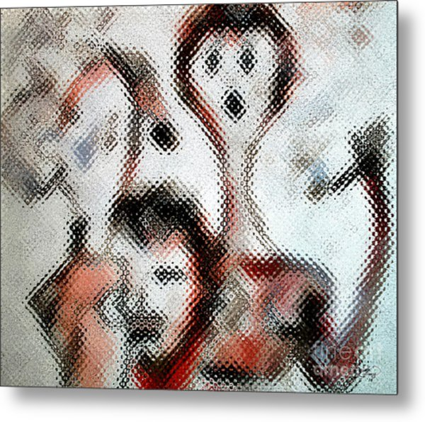 Smokers  Metal Print by Ginette Callaway