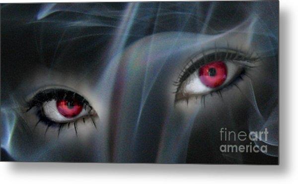Smokey Eyes Metal Print