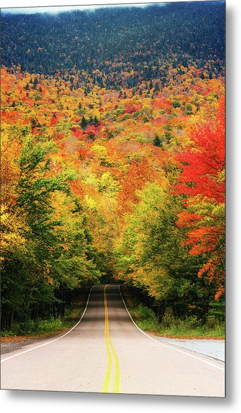 Smuggler's Notch Metal Print