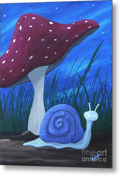 Snail Elliot Metal Print