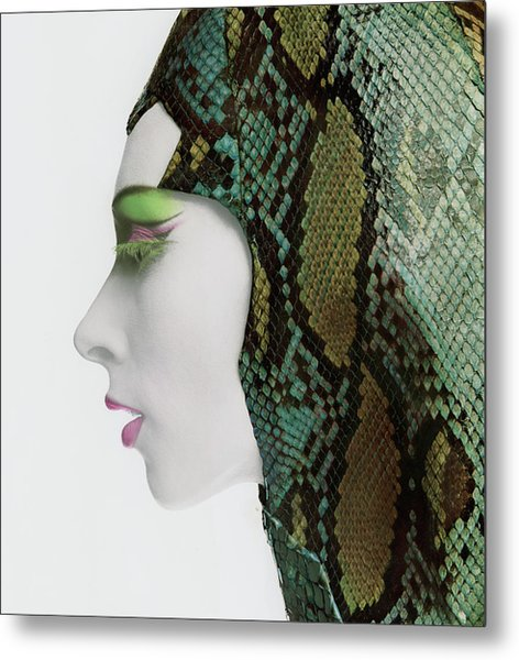 Snake Eyes Metal Print by Bert Stern