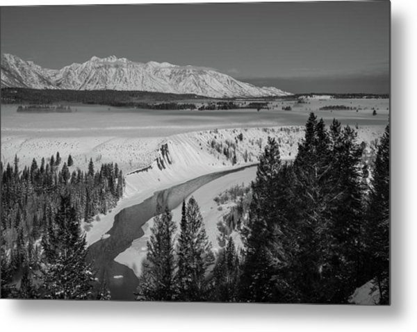 Snake River View Metal Print
