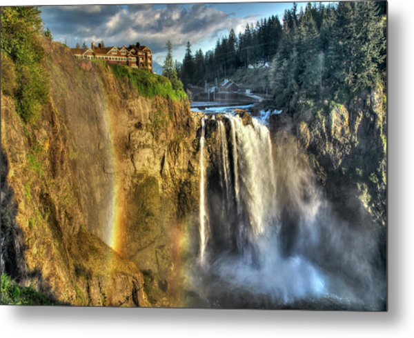 Snoqualmie Falls, Washington Metal Print