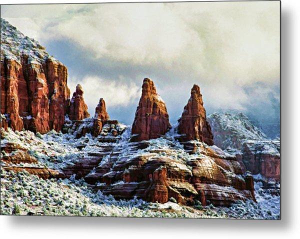 Snow 04-002 Metal Print