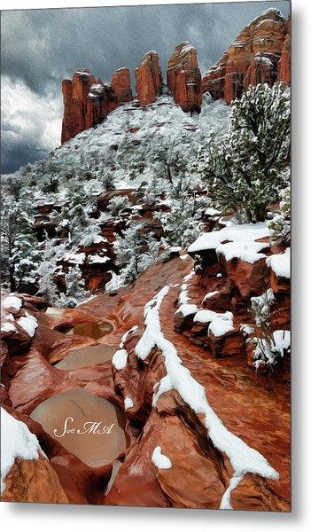 Snow 06-068 Metal Print