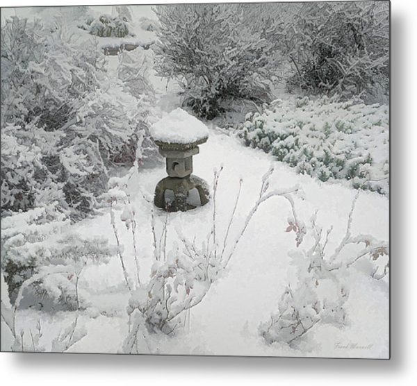 Snow Garden II Metal Print by Frank Maxwell