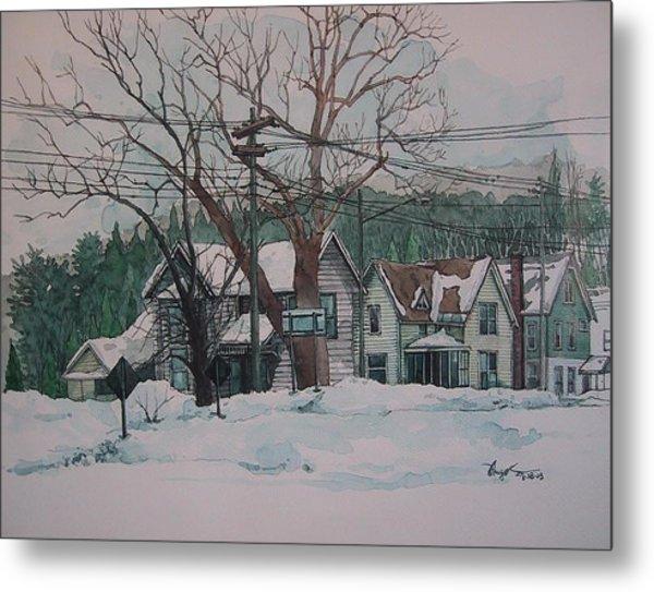 Snow Next Door Metal Print by Richard Ong