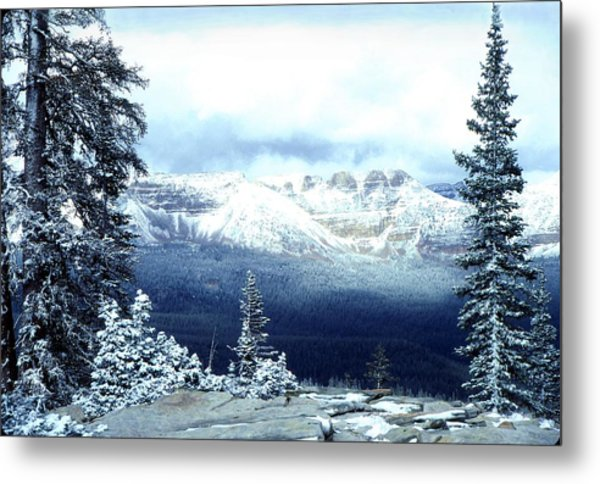 Snow On The High Uintas Metal Print