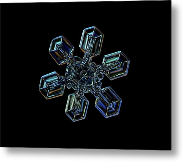 Snowflake Photo - High Voltage IIi Metal Print