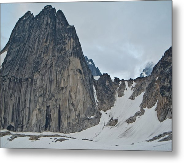 Snowpatch Col Metal Print