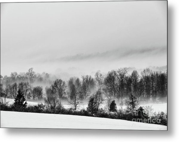 Snowscape Metal Print