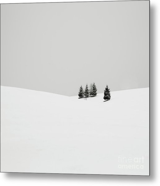Snowscapes   Almost There Metal Print