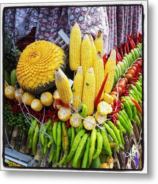 Metal Print featuring the photograph So, Elephants Eat Red Hot Chile by Mr Photojimsf